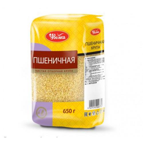 """Пшеничная крупа 650 g """"Увелка»"""