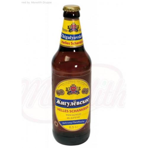 """Bier """"Zhiguli """", 4,0% alc."""