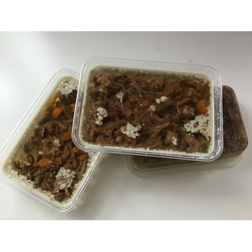 Homemade beef jelly 500g (delivery time - two days)