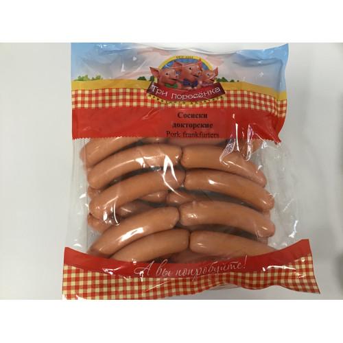 """Sausages """"Doctor"""" 1.654kg"""