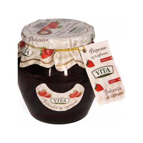 """Jam with strawberries TM """"Vita"""", 168g"""