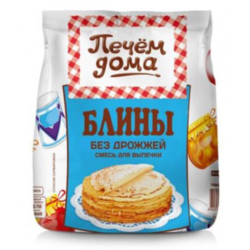 """Mix """"pancakes without yeast"""" 300g"""