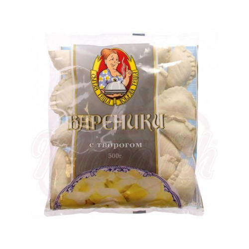 """Dumplings with cottage cheese """"Well-fed mother-in-law"""" 500g"""