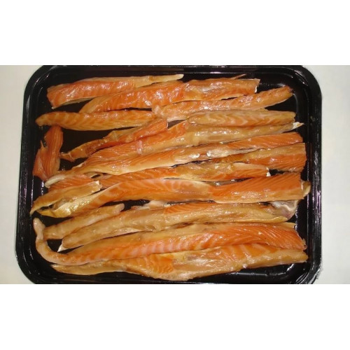 Smoked salmon belly, 300g