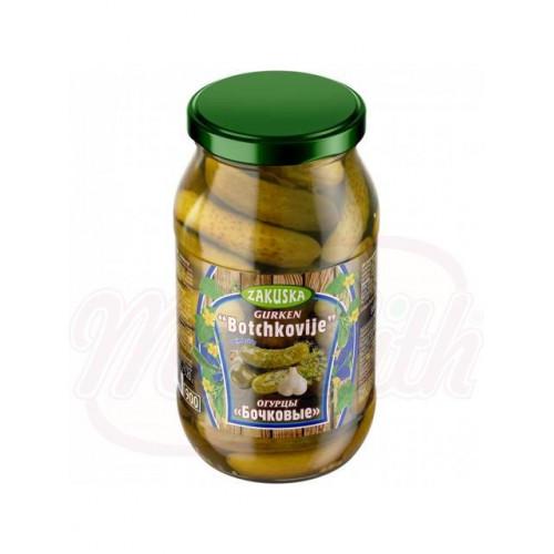 Pickled barrel cucumbers, 860g