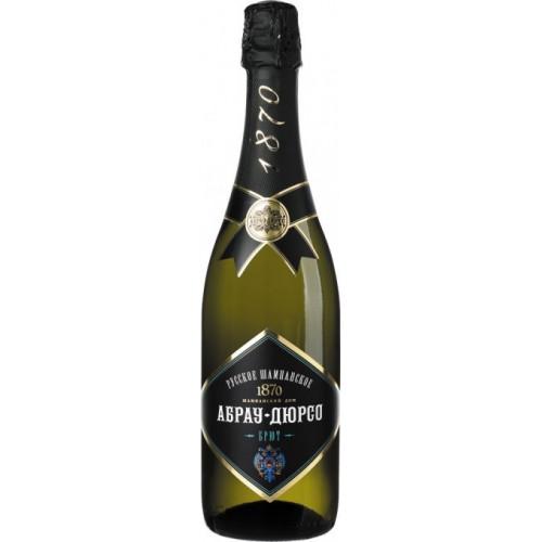 Игристое вино «Абрау Дюрсо» Брют белое, 11.5%, 0.75л