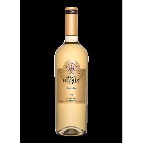 Вірменське біле сухе вино Gevorkian Ariats Voskehat 2017