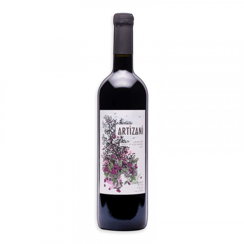 Georgian red dry wine Artizani Saperavi 2017