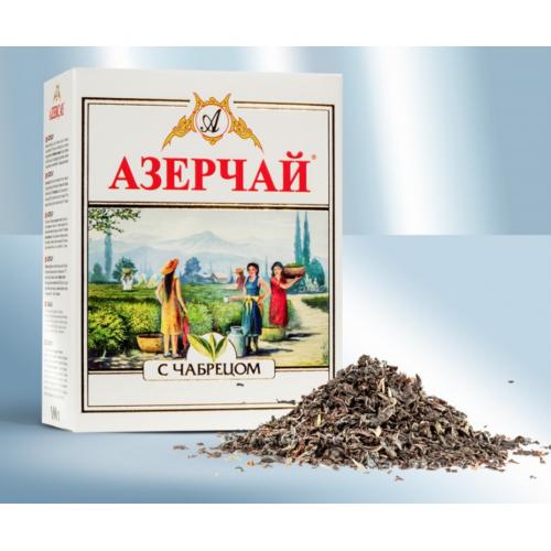 """Black tea """"Azerchay"""" with thyme aroma, 100g"""