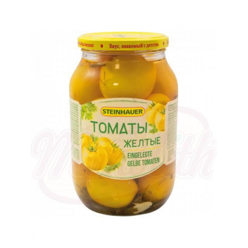 Yellow pickled tomatoes, 1kg