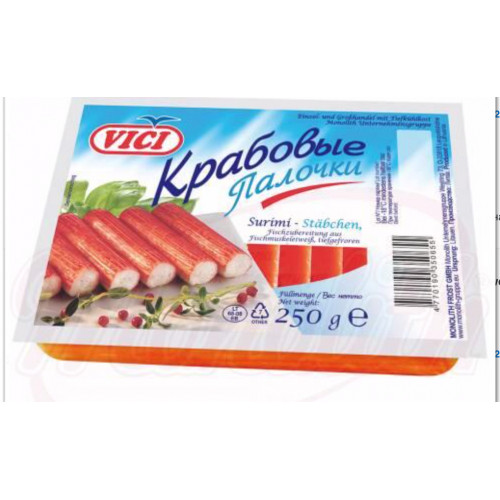 Frozen crab sticks 250g