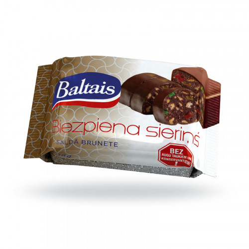 """Baltais curdcheese """"Rum with pieces of jelly"""", 38g"""