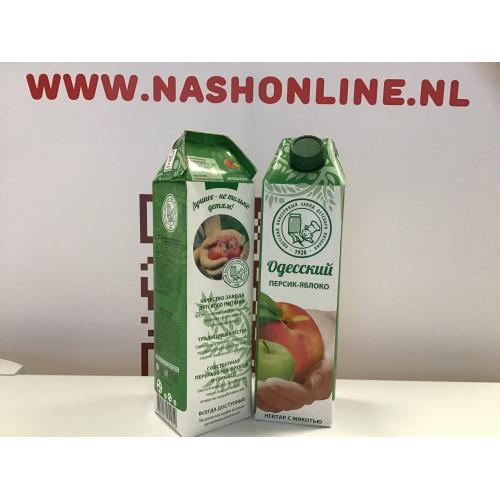 """Juice peach-apple """"Odessa"""", 0.95l"""