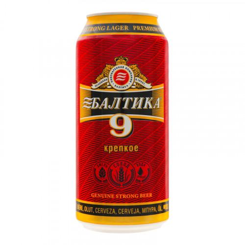 Пиво Балтика 9 в банку 0.9л