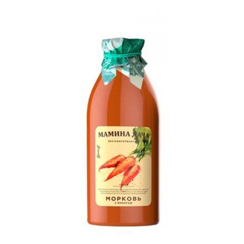 "Carrot nectar with pulp ""Mother's Dacha"", 0.75l"