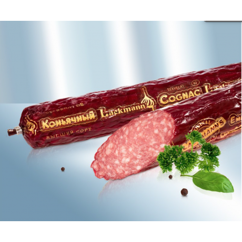 "Cervelat Lackmann ""Cognac"" from pork and beef, 275g"