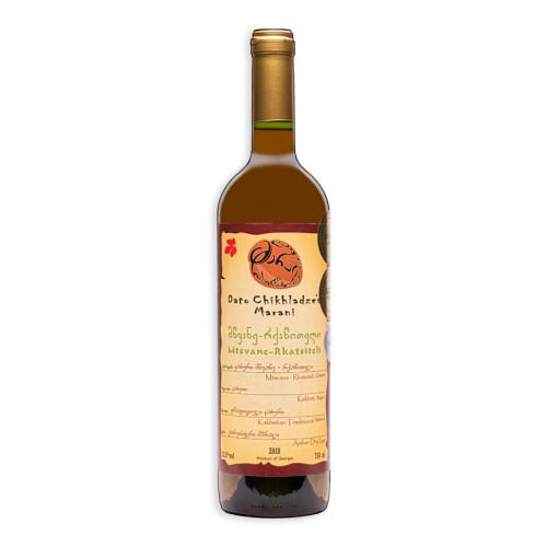 Грузинское оранжевое сухое вино Chikhladze's Marani Mtsvane-Rkatsiteli, 750мл
