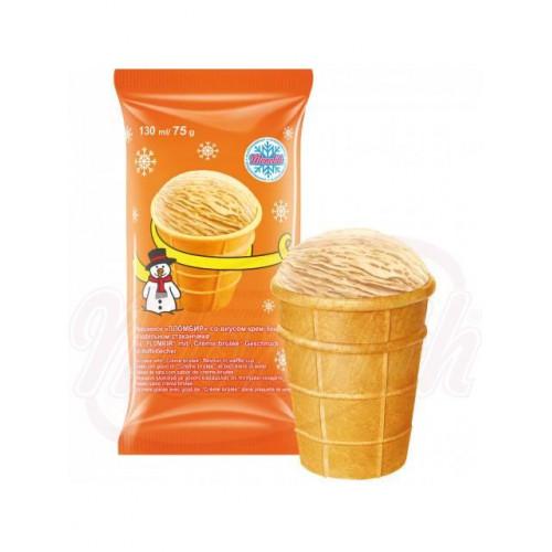 Creme brulee ice cream