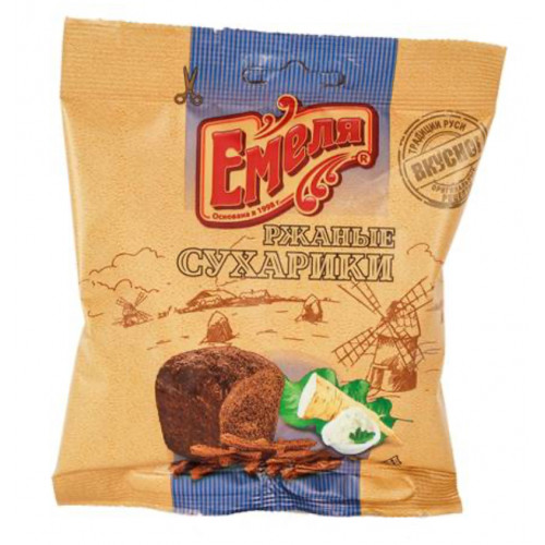 Emele crackers with horseradish flavor 40g