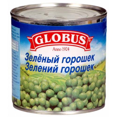 Canned green peas GLOBUS, 400ml