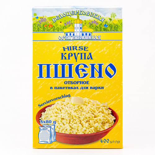 Millet in cooking bags, 400g