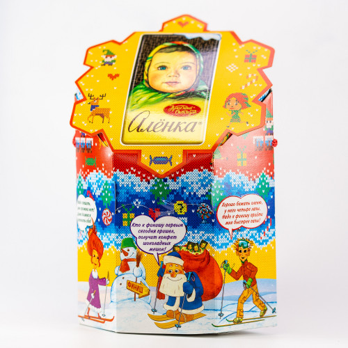 "Gift set ""Alenka - a cheerful girl"", 400g"