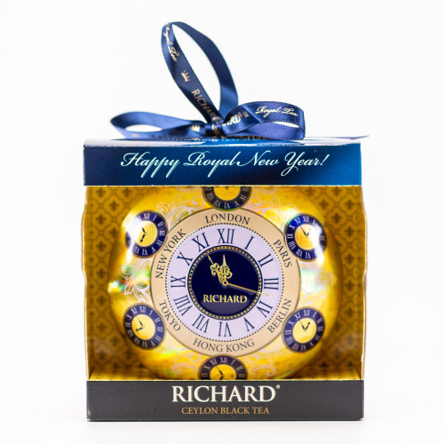 "Geschenk zwarte ceylon thee ""Kerst klok"", 20 g"