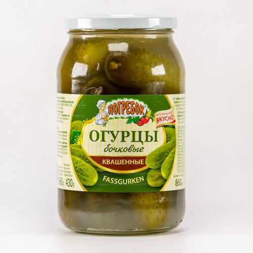 Pickled cucumbers, 900ml