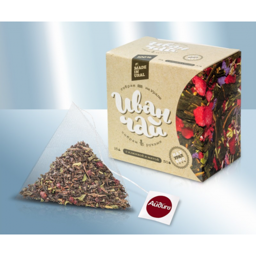Ivan-tea (fireweed) with cranberries and mint, 30g