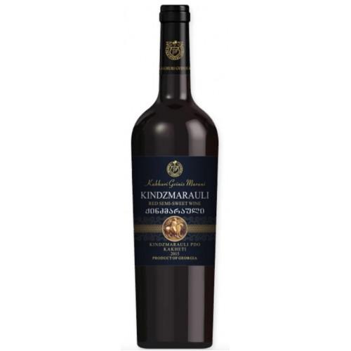 Georgian red semi-sweet wine Kakhuri Gvinis Marani Kindzmarauli, 750ml