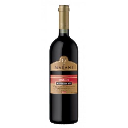 Грузинское красное полусладкое вино Telavi Marani Хванчкара 2018