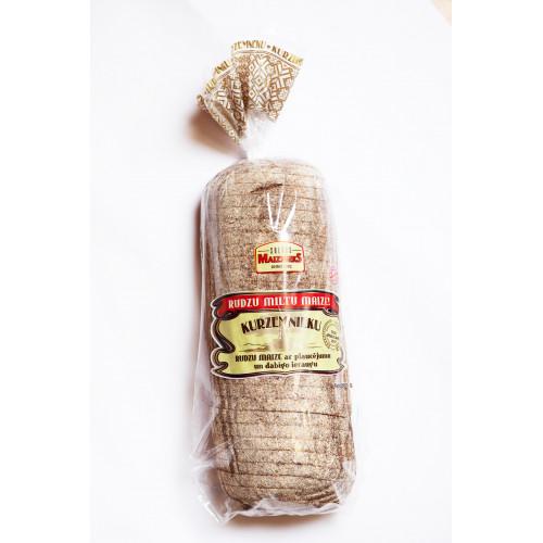 Житній хліб Saldus Maiznieks Kurzemnieku нарізаний, 800г