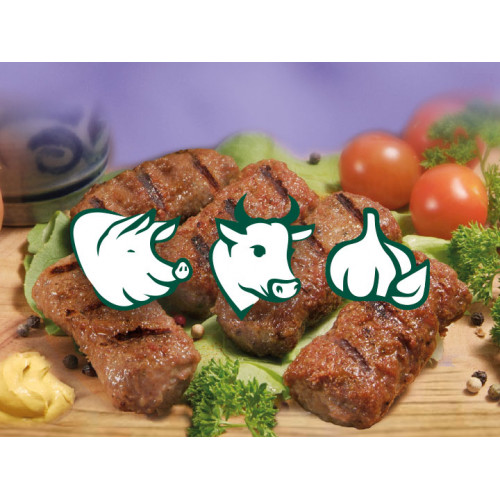 """Рулетики з яловичини і свинини з часником Winklerswurst """"Mici"""" заморожені, 800г"""