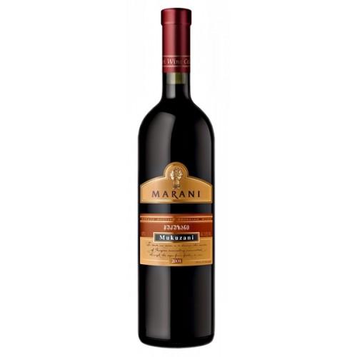 Грузинське червоне сухе вино Telavi Marani Mukuzani 2017