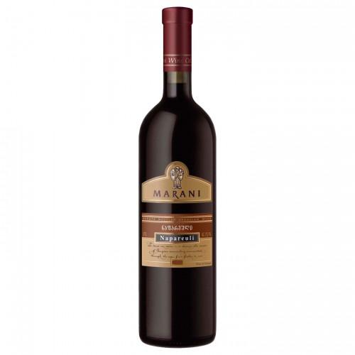 Georgian red dry wine Telavi Marani Napareuli 2014