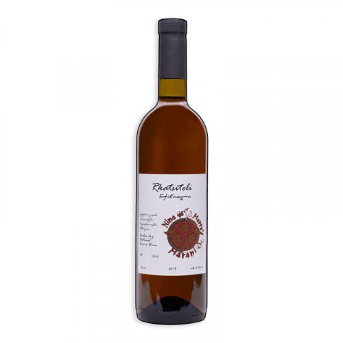 Georgian orange dry wine Nino Merry's Rkatsiteli