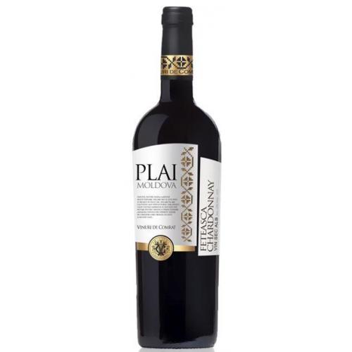 Молдавское белое сухое вино Plai Feteasca Alba-Chardonnay