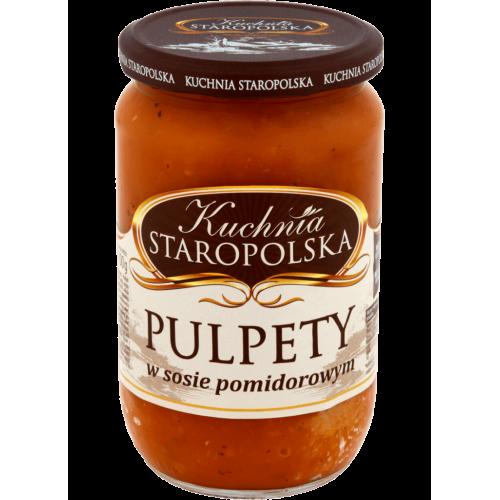 Kuchnia Staropolska gehaktballetjes in tomatensaus, 500 g