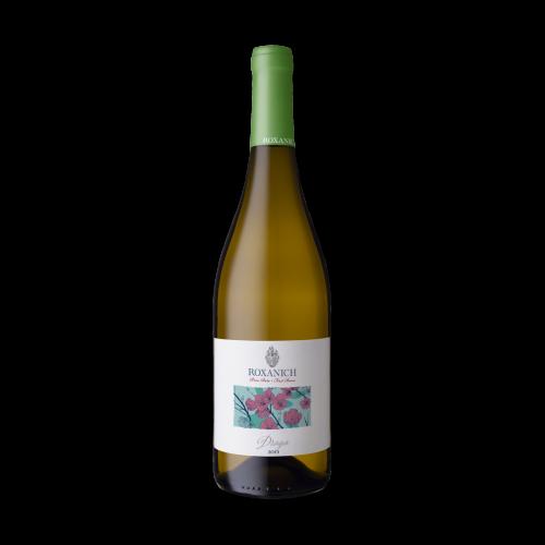 Хорватское белое сухое вино Roxanich Draga 2017