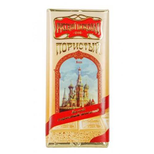 "Шоколад белый пористый ""Русский шоколад"", 90г"