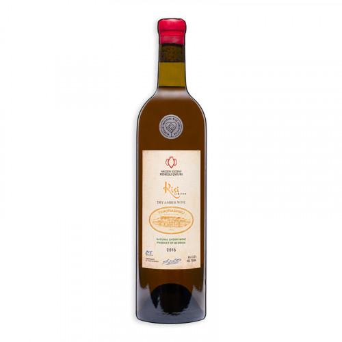 Грузинське помаранчеве сухе вино Tchotiashvili Kisi