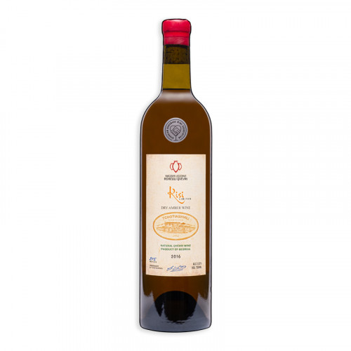 Georgian orange dry wine Tchotiashvili Kisi