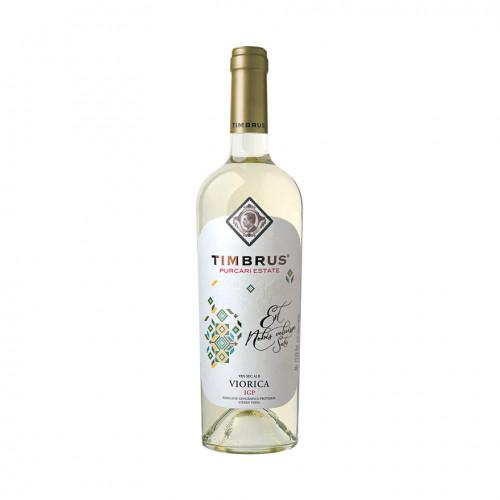Moldavian white dry wine Timbrus Viorica De Purcari 2019