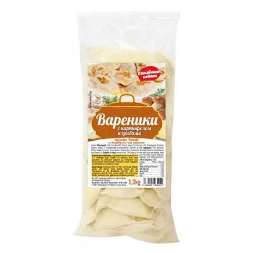"""Dumplings with potatoes and mushrooms """"Family Council"""", 1.3kg"""