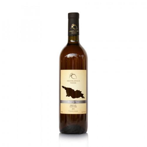 Georgian orange wine Qvevri Abdushelishvili Rkatsiteli 2019