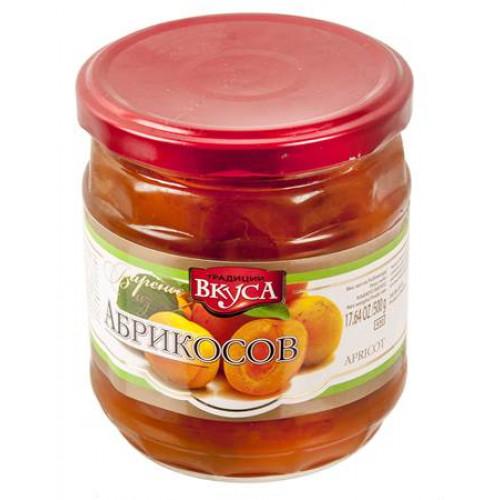 Варенье из абрикосов без косточек, 500г