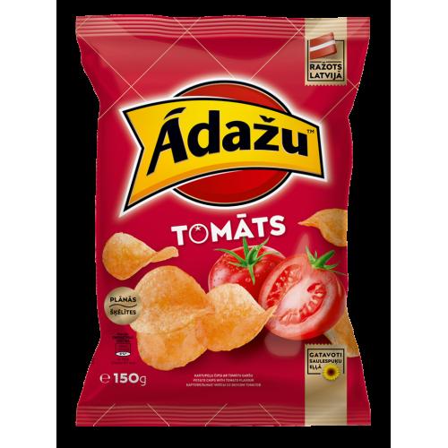 Чіпси Adazu зі смаком томатів, 150г