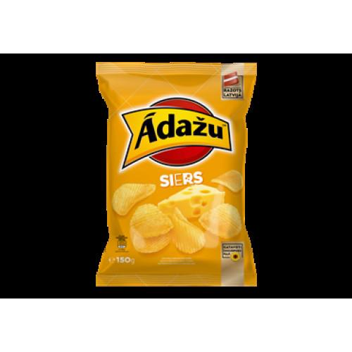 Adazu cheese flavored chips, 150g