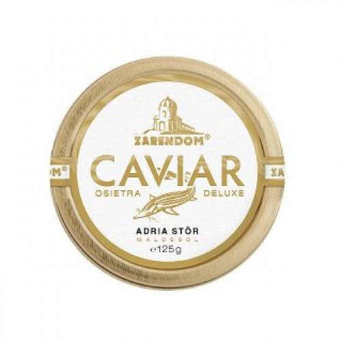 "Black sturgeon caviar ""Adriatic"", 125g"