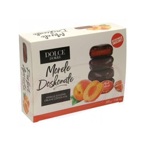 Абрикосы в шоколаде молдавские Dolce Dorre, 200г